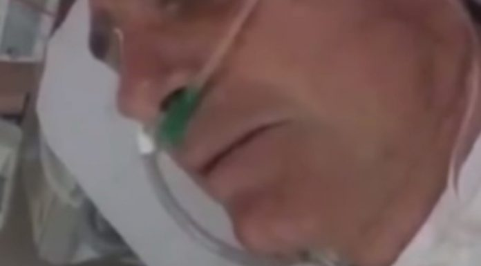 Jair Bolsonaro habla desde el hospital./ Captura de video