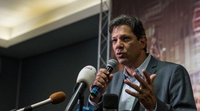 Fernando Haddad se muestra optimista pero su alianza con otros partidos es estrecha