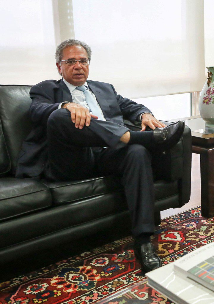 Paulo Guedes (Foto: Sergio LIMA / AFP)