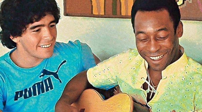 """Para Brasil Pelé es Dios y Maradona """"ViceDios"""""""